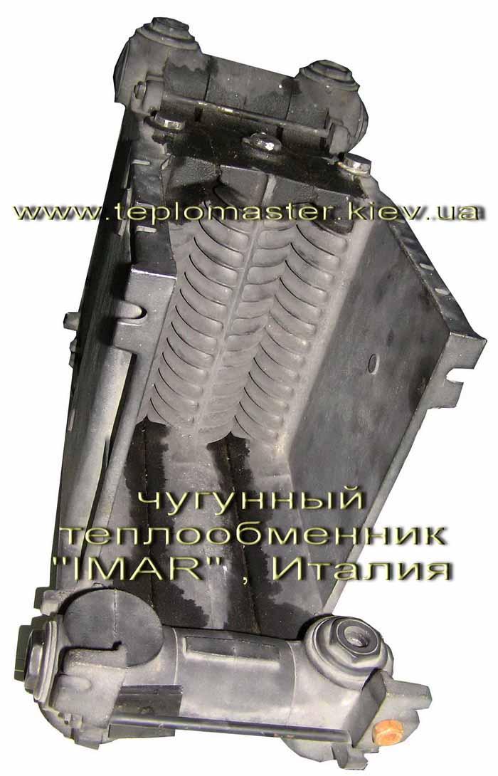 Напольный отопительный газовый котел АОГВ (с чугунным теплообменником) .